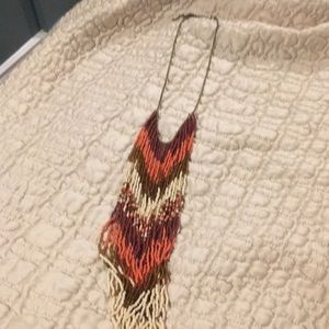 Jewelry - Long fringe necklace. Perfect w a white tee
